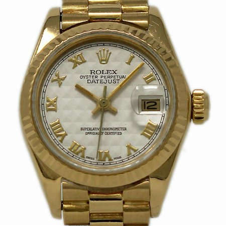 Pre-Owned Rolex Datejust 6917 Gold Women Watch (Certified Authentic & Warranty)