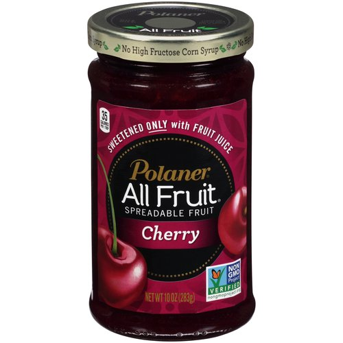 Polaner All Fruit Cherry Spreadable Fruit, 10 oz
