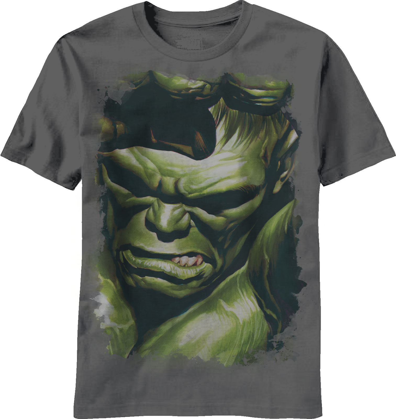 Marvel Incredible Hulk Grimace 75th Anniversary Adult T-Shirt
