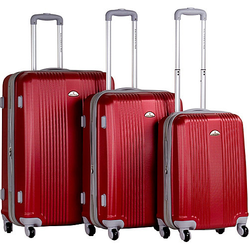 CalPak Torrino 3-Pc Hardside Luggage Set