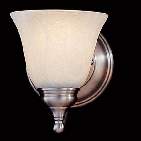 Feiss Bristol Bathroom Wall Sconce - 5W in. Pewter