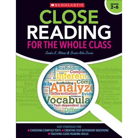 Close Reading for the Whole Class : Easy Strategies For: Choosing Complex Texts - Creating Text-Dependent Questions - Teaching Close Reading Lessons - Halloween Lessons For Teaching