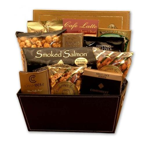 Gift Basket Drop Shipping The Metropolitan Gourmet Gift Basket