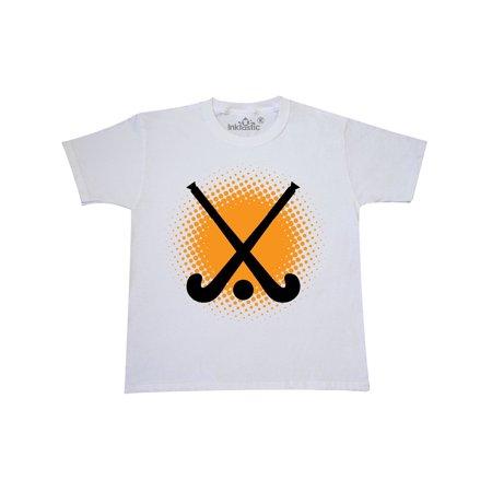Field Hockey Player Team Coach Youth T-Shirt (Junior Hockey Jersey)