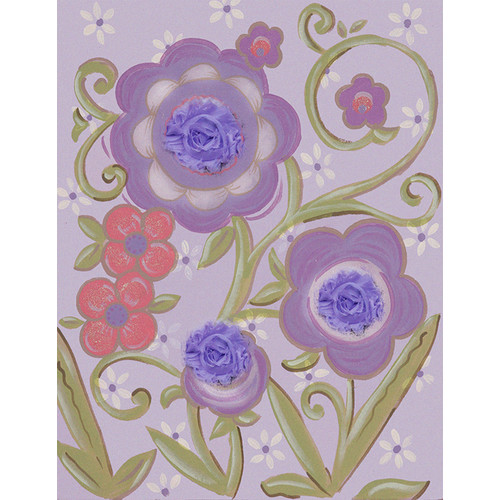 Renditions by Reesa Flower I Lavender Canvas Art
