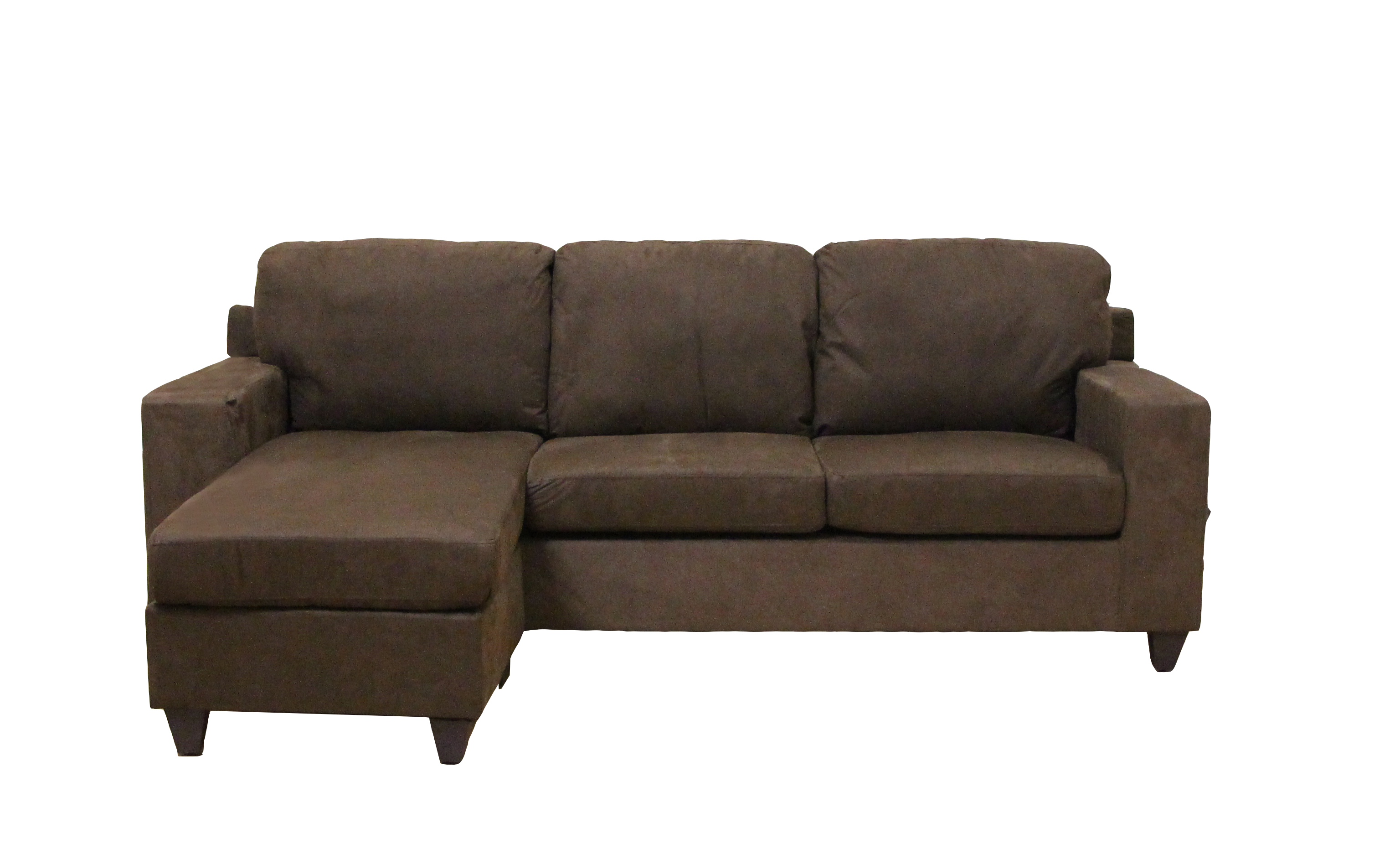 Prime Acme Vogue Sectional Sofa Chocolate Microfiber Bralicious Painted Fabric Chair Ideas Braliciousco