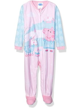Peppa Pig Toddler Girl Microfleece Blanket Sleeper Pajama