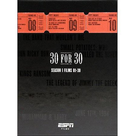 Espn Films 30 For 30  Season 1 Films 01 30