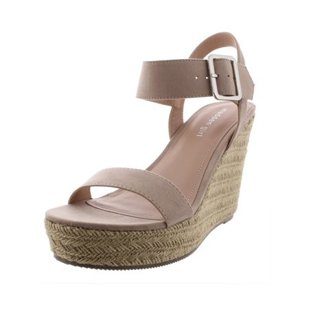 Girls Wedges (Madden Girl Womens Vail Faux Leather Wedges)