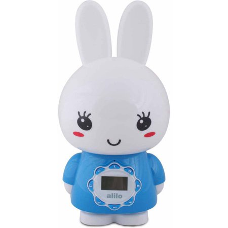 Image of Alilo BIG Bunny with Music and Story Playing Capabilities 4 GB Micro SD Card, Blue