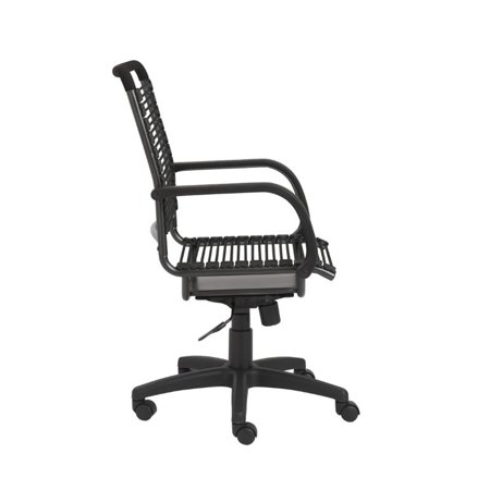 Brika Home High Back Office Chair in Black - image 2 de 4