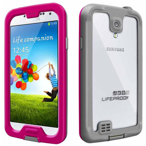 Samsung Galaxy S4 I9500 16GB GSM Smartphone and Lifeproof nuud Case (Unlocked)