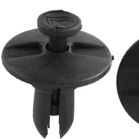 100 Pcs Black Plastic Splash Guard Push-Type Fastener Mat Rivet for Buick - image 1 of 2