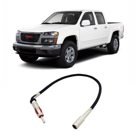 gmc canyon 2004 2012 factory stereo to aftermarket radio. Black Bedroom Furniture Sets. Home Design Ideas