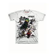 Lego The Ninjago Movie Little Boys' T-shirt, White (5/6)