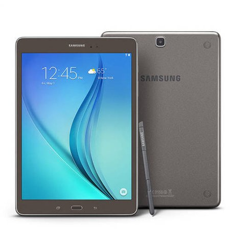 """DEALS Refurbished Samsung Galaxy Tab A with WiFi 9.7"""" Touchscreen Tablet PC Featuring Android 5.0 (Lollipop) Operating System and S Pen, Smoky Titanium LIMITED"""