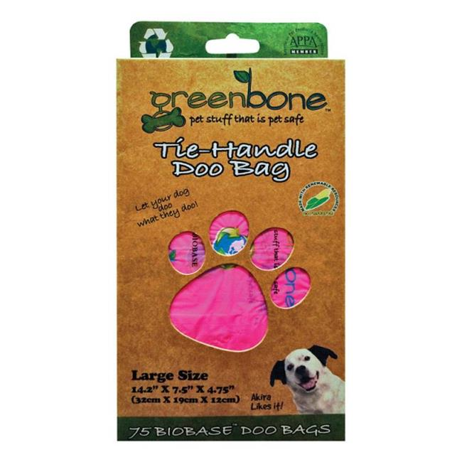 Greenbone 13010 Disposable Pet Waste Bags  75 Piece