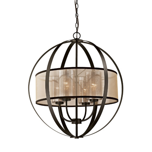 Brayden Studio Dailey 4 Light Globe Chandelier