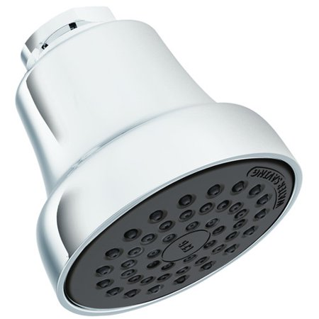 CLEVELAND FAUCET GROUP SHOWER HEAD WATER SAVING CHROME 1.75 GPM per 2 (Water Saving Shower Head Litres Per Minute)