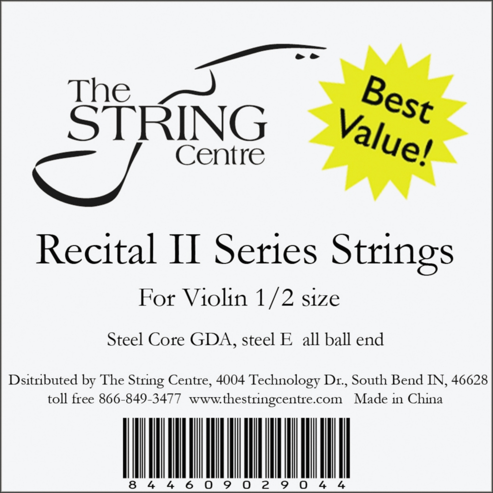 Recital II Violin String set by The String Centre