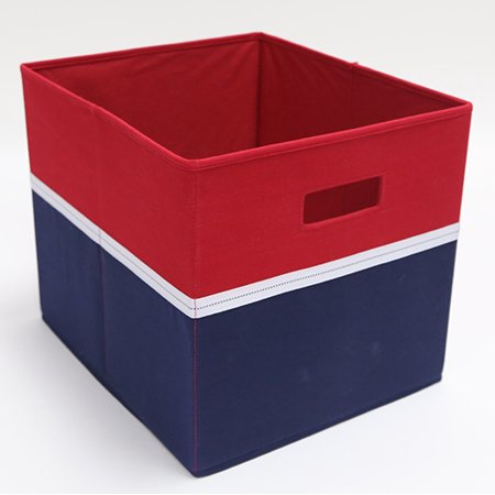 Better Homes And Garden Storage Bin Red Blue