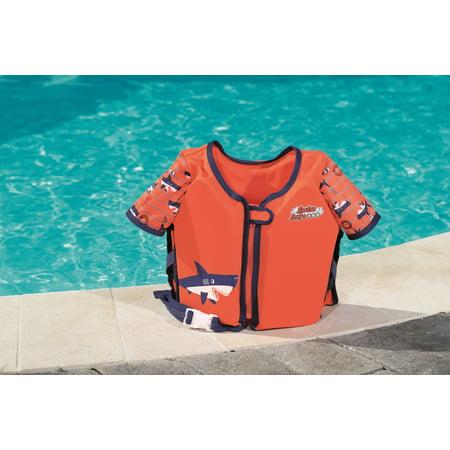 Swim Safe Swim Vest w/ Sleeves - Orange