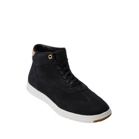 - Grandpro Leather Hi-Lo Sneakers