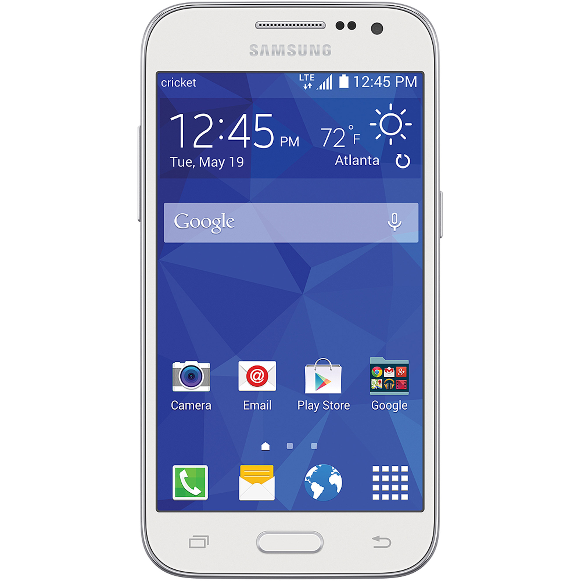 Cricket Wireless Samsung Galaxy Core Prime 8GB Prepaid Smartphone, White