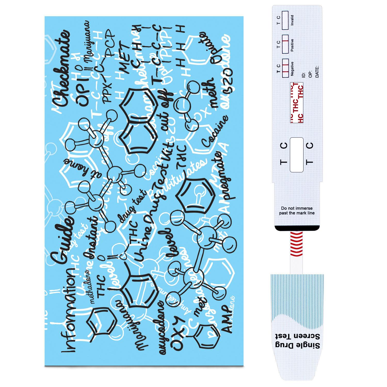 (15 Pack) PREGMATE Marijuana THC Urine Drug Dip Test Kit
