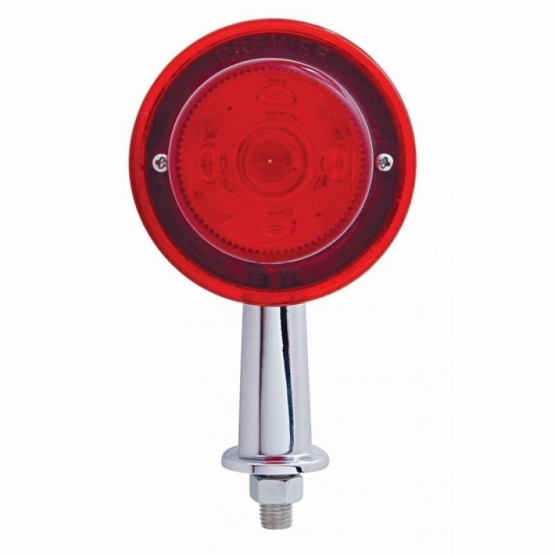 "13 LED 2 1/8"" Arm Honda Light Kit - Red LED/Red Lens"
