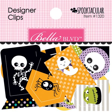 Bella Blvd Spooktacular Collection Halloween Designer - Spooktacular Halloween Words