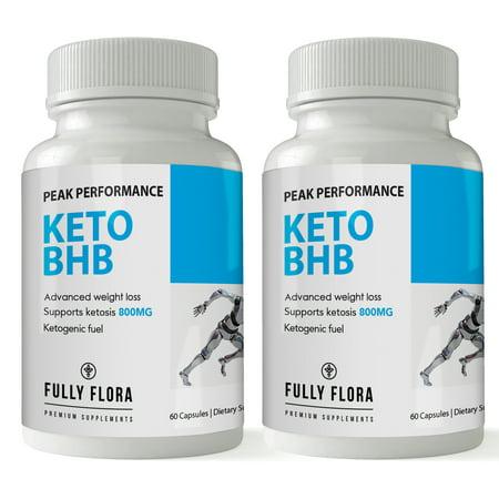 2 X 60 Capsules - Fully Flora KETO BHB (2 bottles x 60 capsules)