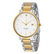 Gramercy White Dial Two-tone Ladies Watch 1YRU0108