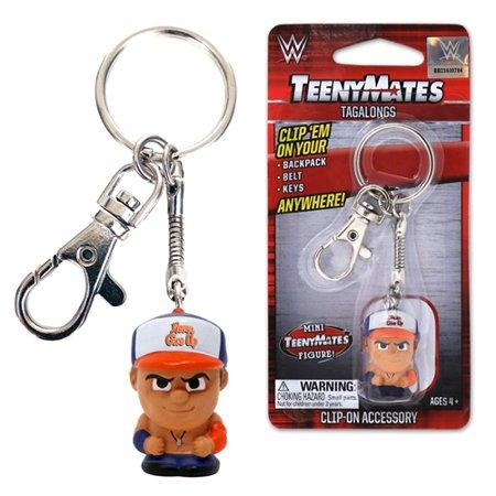 TeenyMate Tagalongs Keychain - WWE John Cena - by Party Animal Inc. (Animal Keychains)
