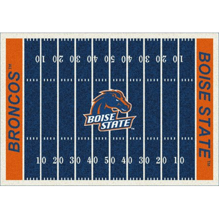 Milliken Ncaa College Home Field Area Rugs Contemporary 01042 Football Sports Novelty Rug