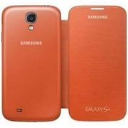 Samsung Galaxy S4 Flip Cover Folio Case (orange)