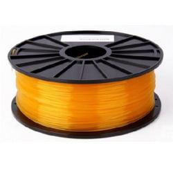 Transparent Orange 3D Printing 1.75mm PLA Filament Roll – 1 kg (1 pack)