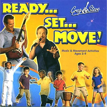 Greg & Steve Productions GS-019CD Greg & Steve Ready Set Move Cd - image 1 of 1