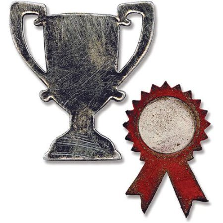 Sizzix Movers & Shapers Magnetic Die Set; Mini Trophy & Prize - Mini Trophy