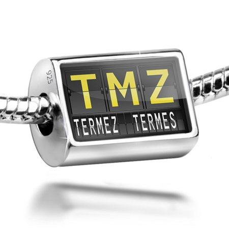 Bead Tmz Airport Code For Termez  Termes  Charm Fits All European Bracelets