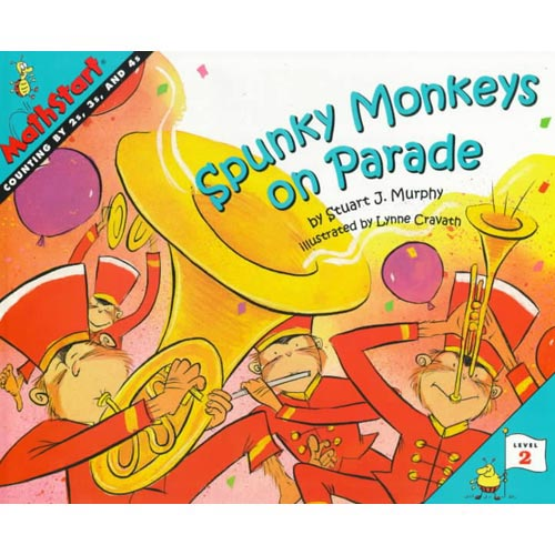 Spunky Monkeys on Parade: Counting by 2's, 3's, and 4's
