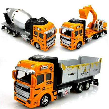 Toys for Boys Truck Toy Kids Construction Vehicles 3 4 5 6 7 Year Baby Xmas Gift ()