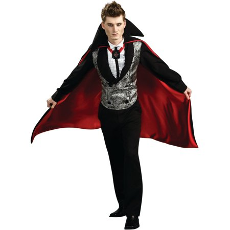 Men's Large 42-44 Gothic Count Dracula Vampire - Vampire Couple Halloween Costumes