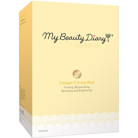 My Beauty Diary Collagen Firming Face Mask, 10 count