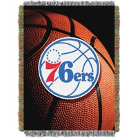 Philadelphia 76ers The Northwest Company 48'' x 60'' Photo Real Woven Tapestry Throw