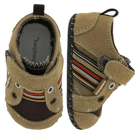 pediped Originals Jones Shoe (Infant/Toddler), Khaki, Medium (12-18 Months)E US Infant Pediped Infant Shoes