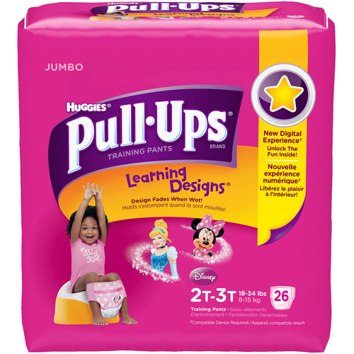 Pull-Ups Learning Designs Training Pants (Choose Your Size)