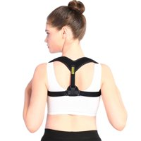 EECOO Posture Corrector Brace and Clavicle Support Straightener for Upper Back Shoulder Forward Head Neck Aid, Improve and Fix Poor Posture for Women Men