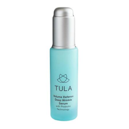 Tula Volume Defense Deep Wrinkle Serum w/Probiotic Technology, 1oz/30ml ()