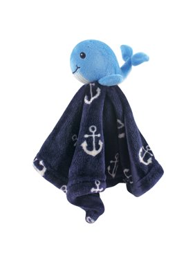 Hudson Baby Boy and Girl Security Blanket - Boy Whale